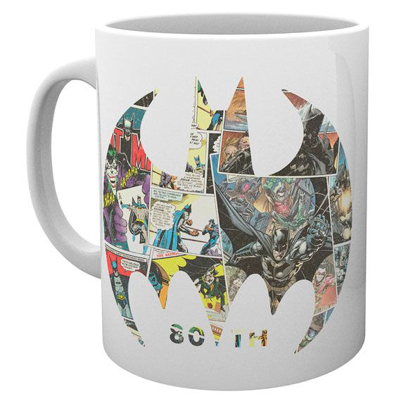 DC Comics Batman Comic Symbol mug