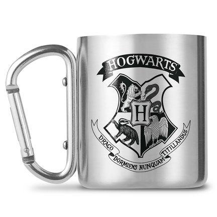 Harry Potter Hogwarts carabiner mugs