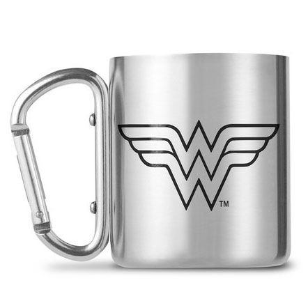 DC Comics Wonder Woman carabiner mugs