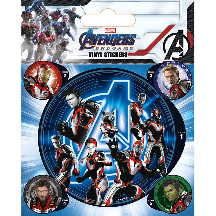 Marvel Avengers set vinyl stickers