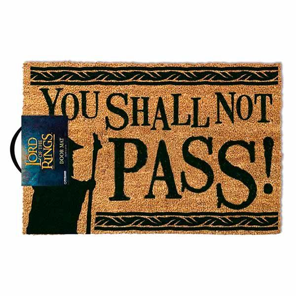 The Lord of the Rings You Shall Not Pass Doormats