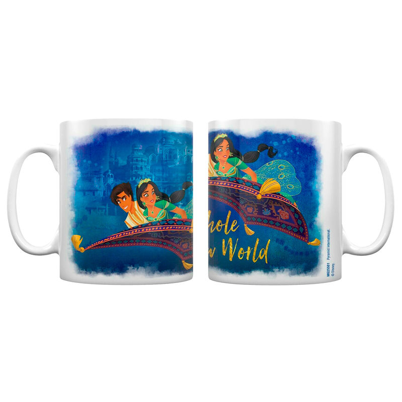 Disney Aladdin A Whole New World mug