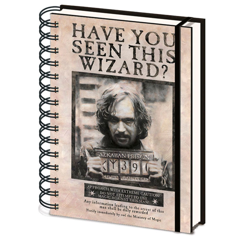 Harry Potter Sirius Black A5 notebook