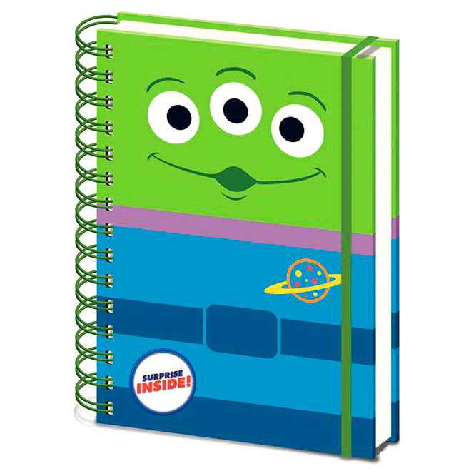 Disney Pixar Toy Story Alien A5 notebook