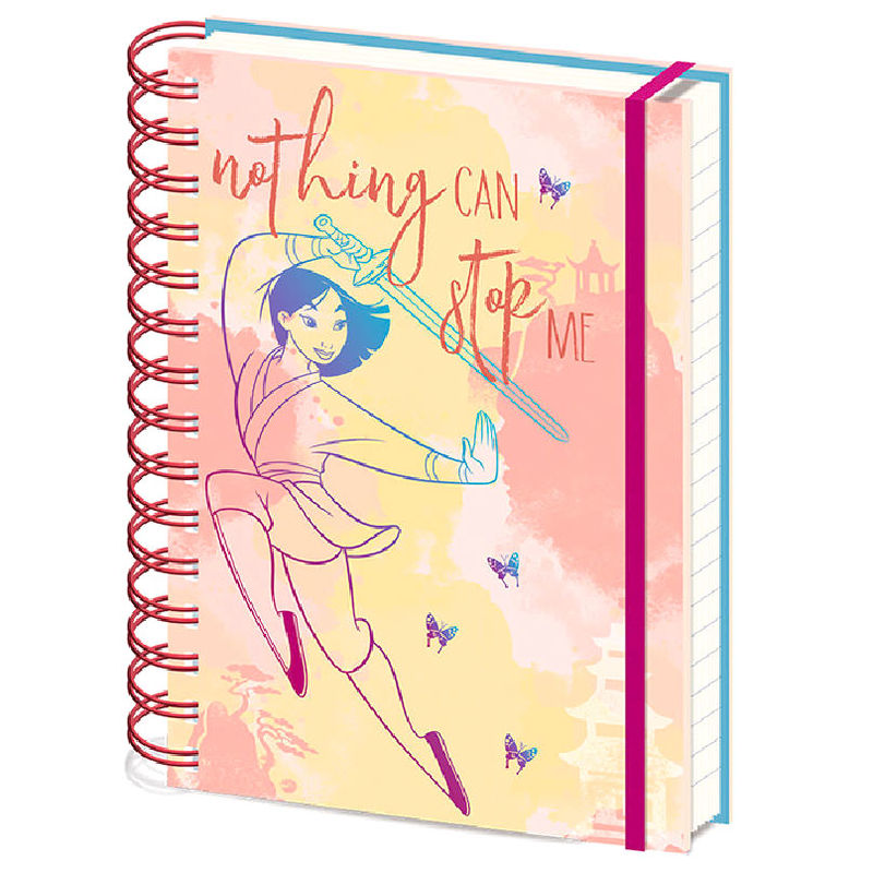 Disney Mulan Nothing Can Stop Me A5 notebook