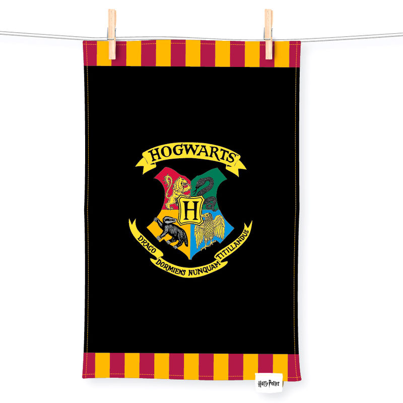 Harry Potter Hogwarts tea towel
