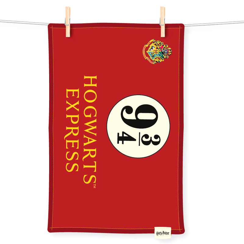 Harry Potter Hogwarts Express 9 3/4 tea towel