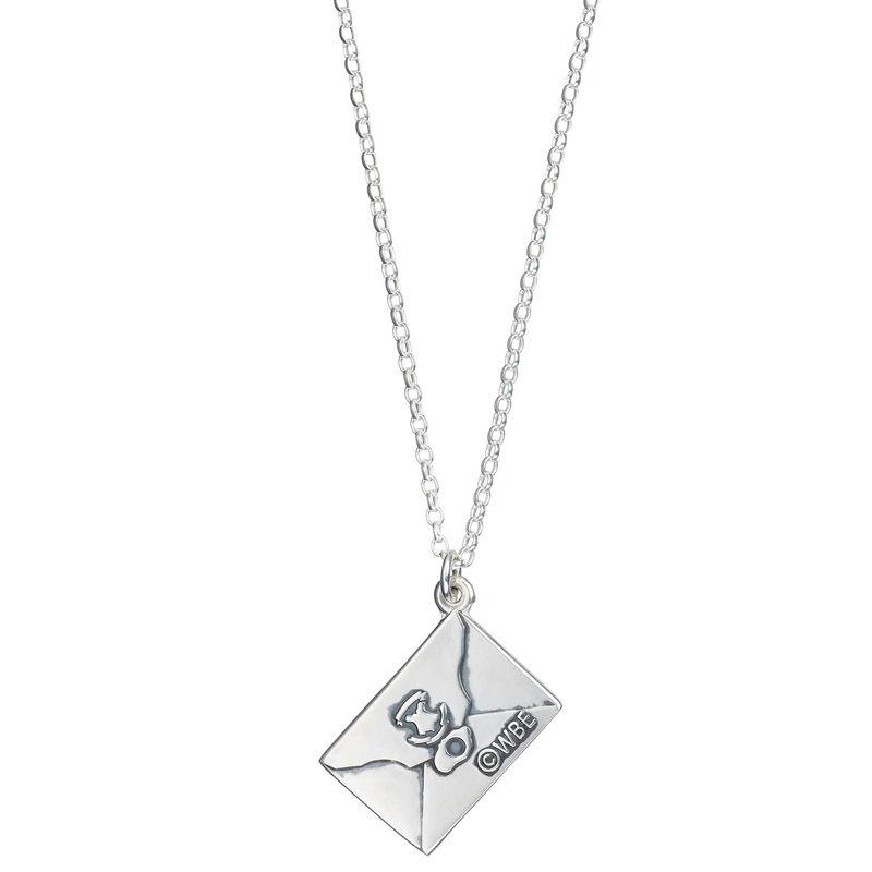 Harry Potter Hogwarts Acceptance Letter silver necklace