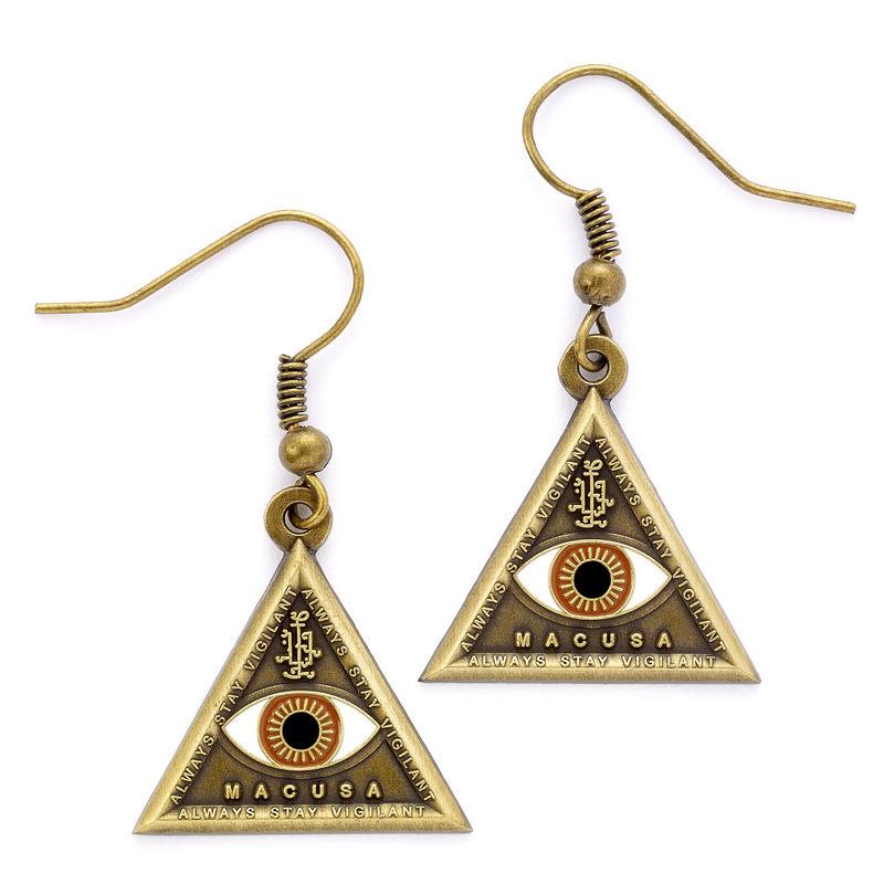 Fantastic Beasts Triangle Eye earrings