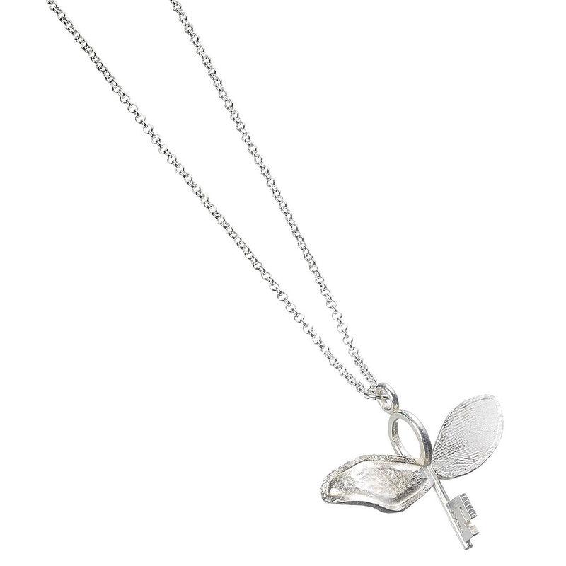 Harry Potter Flying Key silver necklace