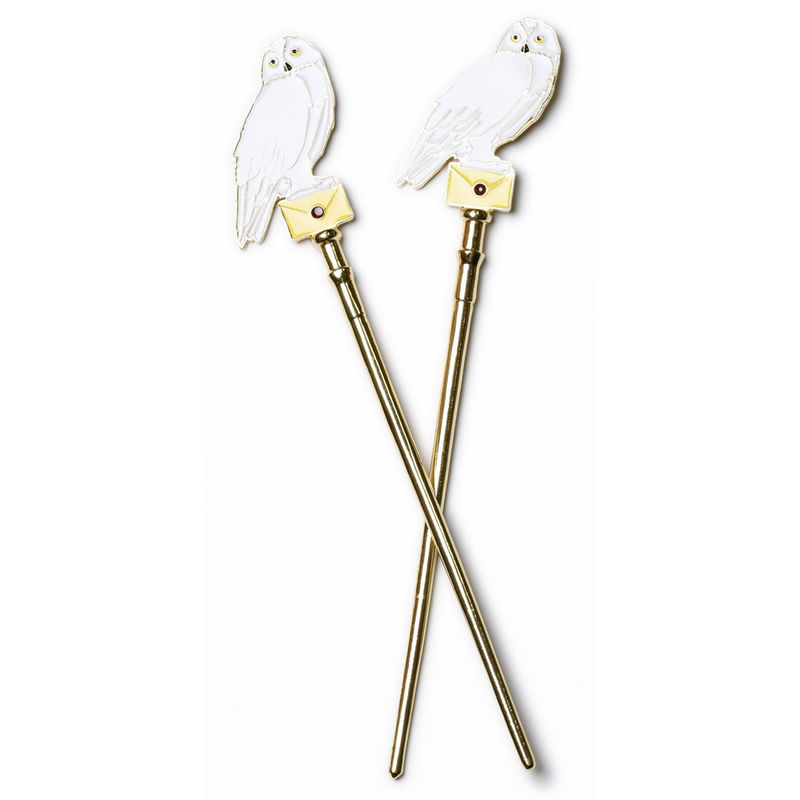 Harry Potter Hedwig hair sticks
