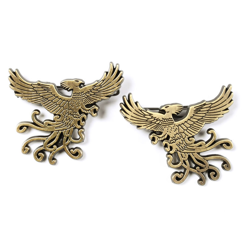 Harry Potter Phoenix set 2 barrettes