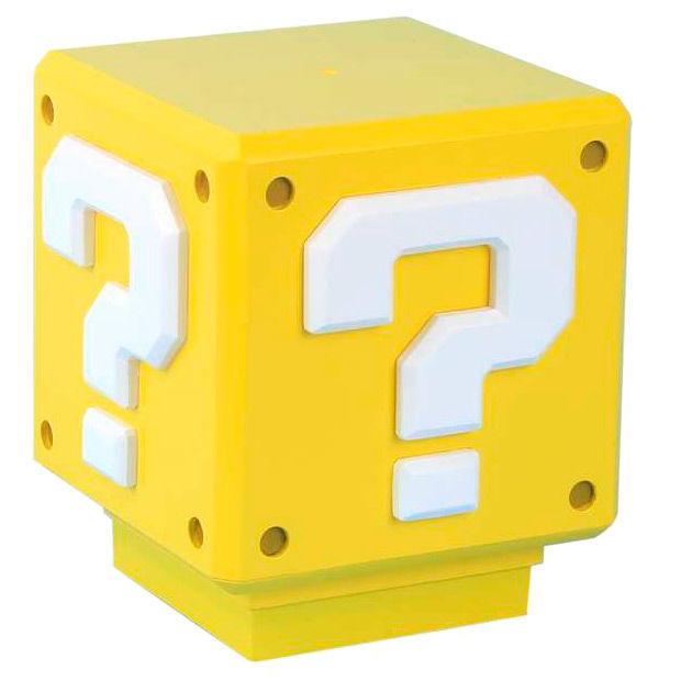 Nintendo Super Mario Bros Mini Question Block light