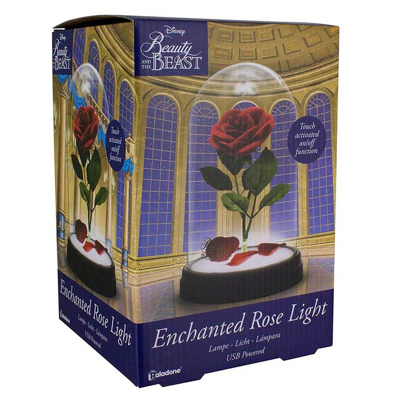 Disney Beauty and the Beast pink light