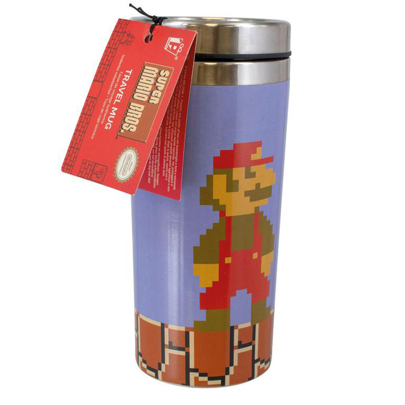Nintendo Super Mario travel glass