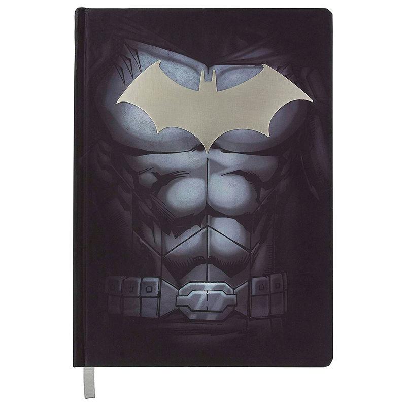 DC Comics Batman metak logo notebook