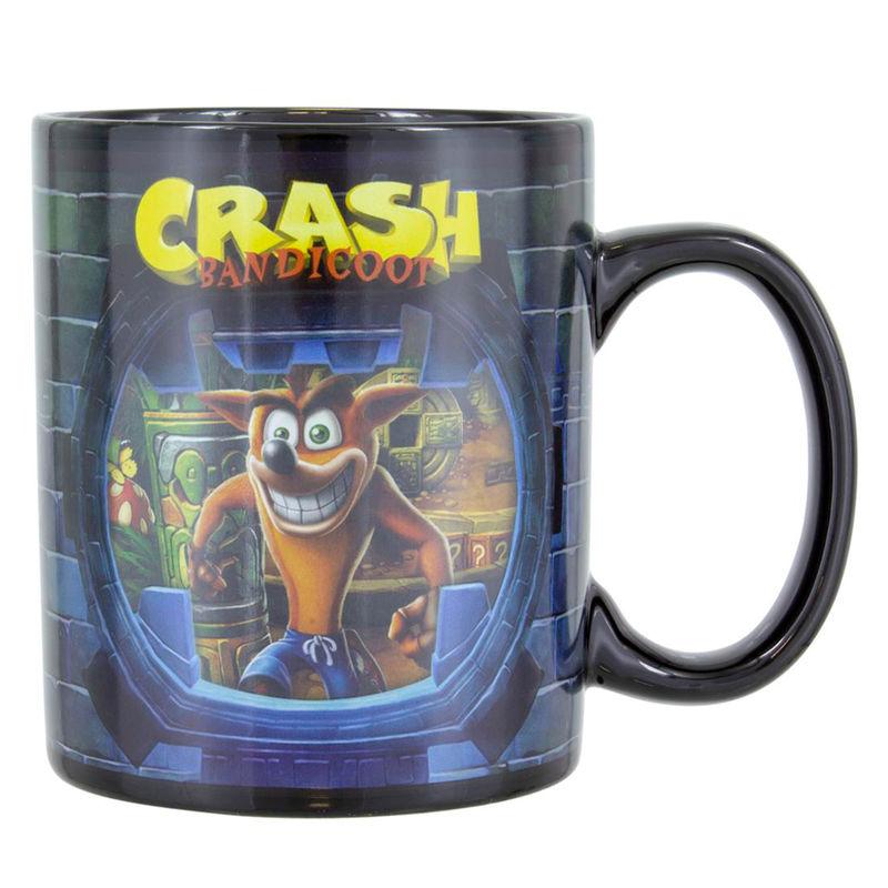 Crash Bandicoot change mug