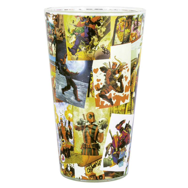 Marvel Deadpool glass