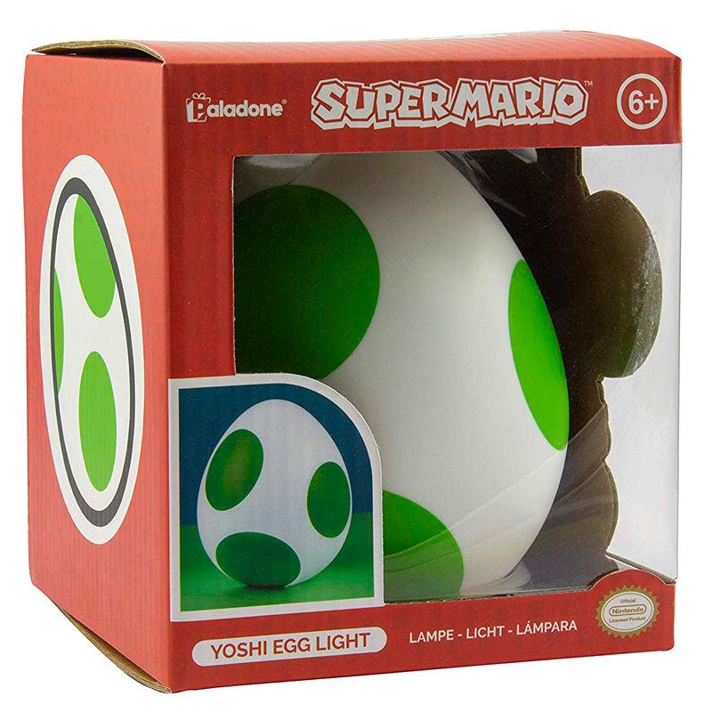 Nintendo Super Mario Yoshi egg lamp