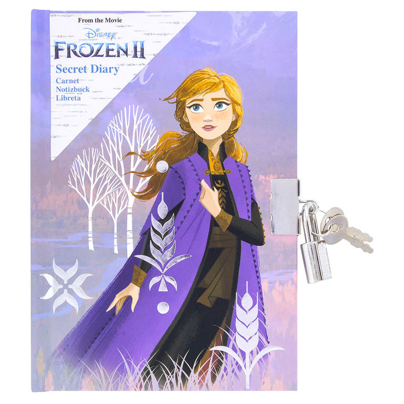 Disney Frozen 2 Anna diary