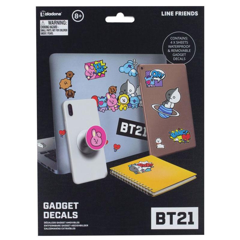 BT21 set vinyl stickers