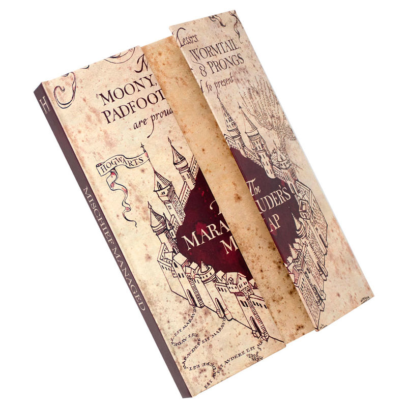Harry Potter Marauders Map A5 notebook