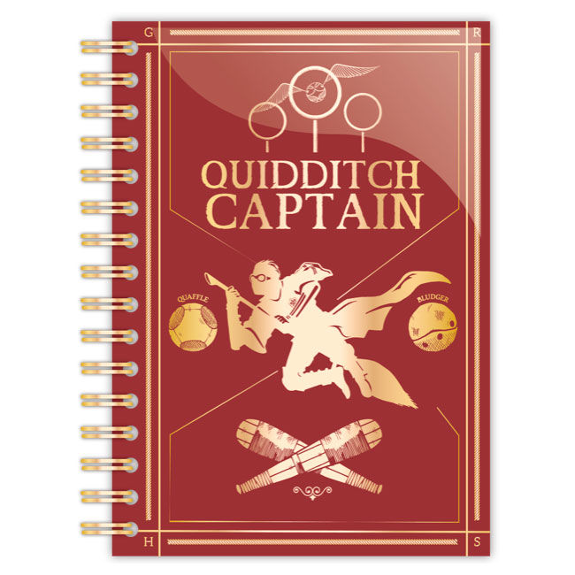 Harry Potter Quidditch A5 notebook