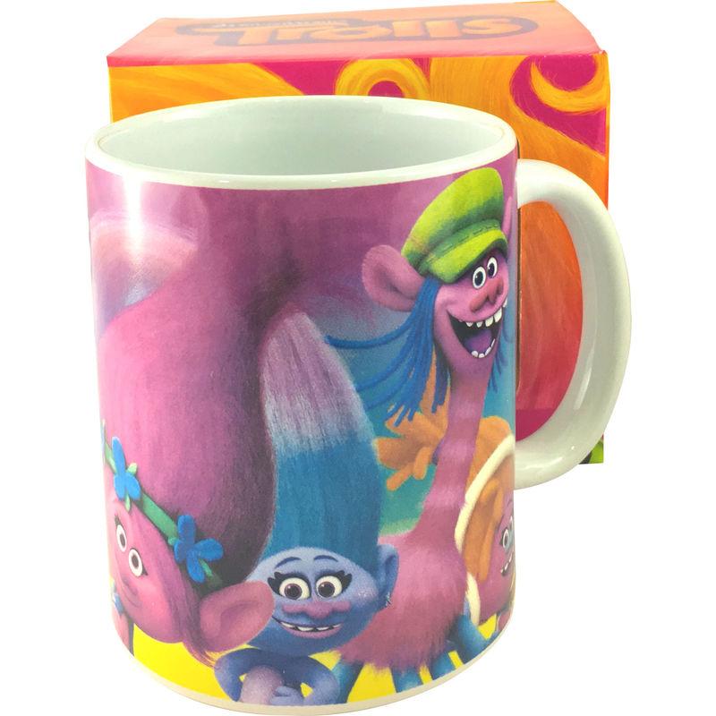 Trolls ceramic mug
