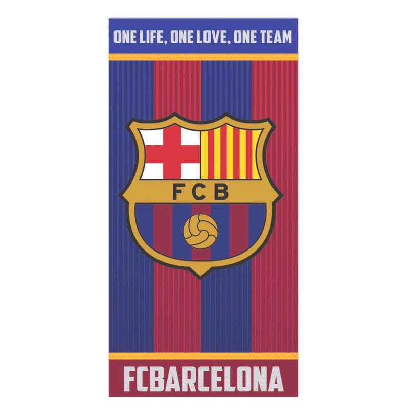 FC Barcelona cotton towel