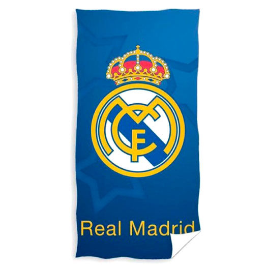 Real Madrid microfiber beach towel