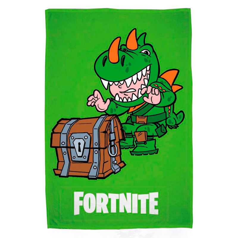 Fortnite Dino cotton beach towel