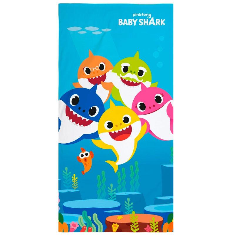 Baby Shark microfiber towel