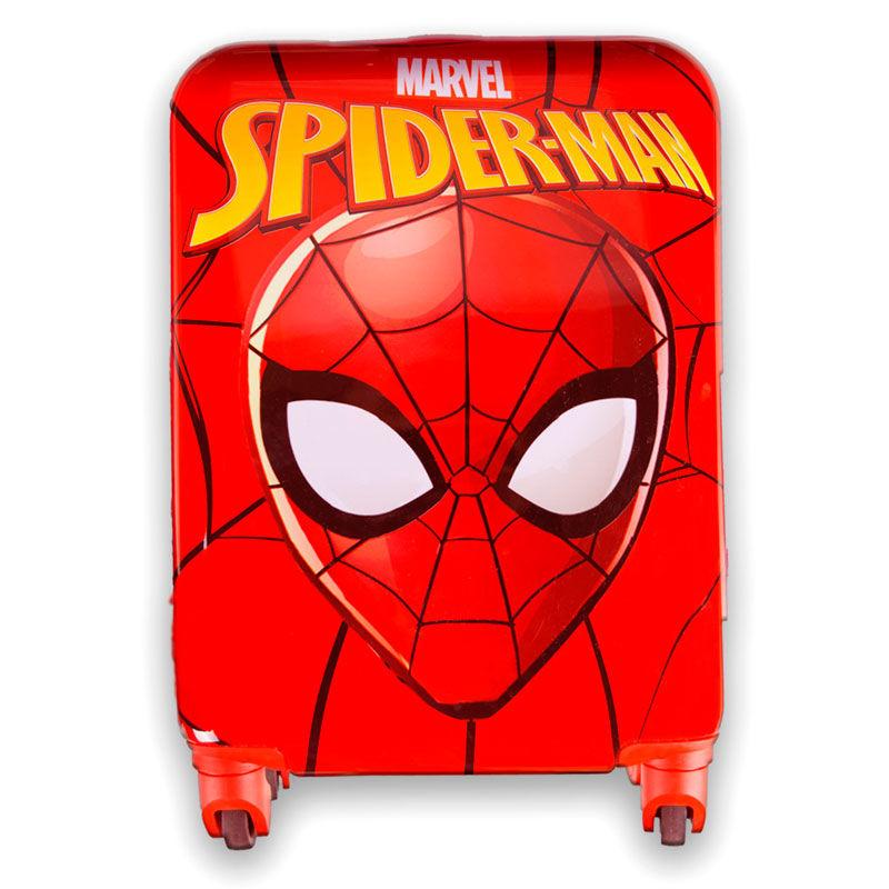 Marvel Spiderman ABS trolley suitcase 4 wheels 48cm