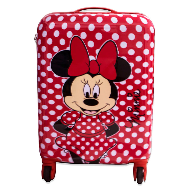 Disney Minnie ABS trolley suitcase 4 wheels 48cm