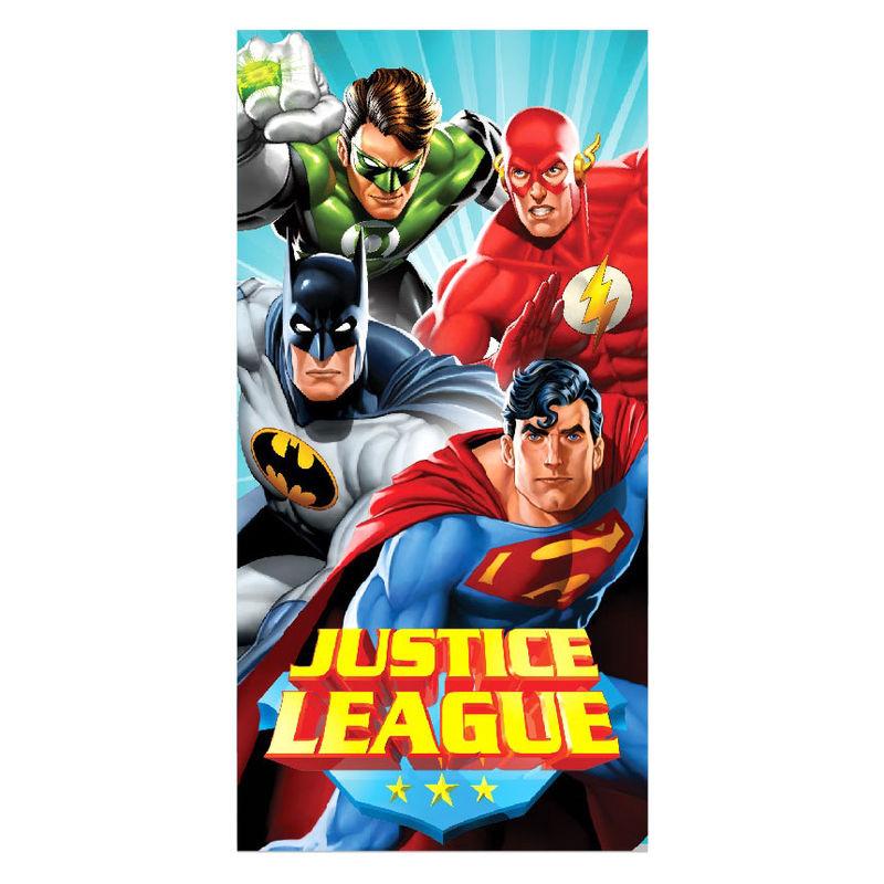 DC Comics Justice League microfiber beach towel