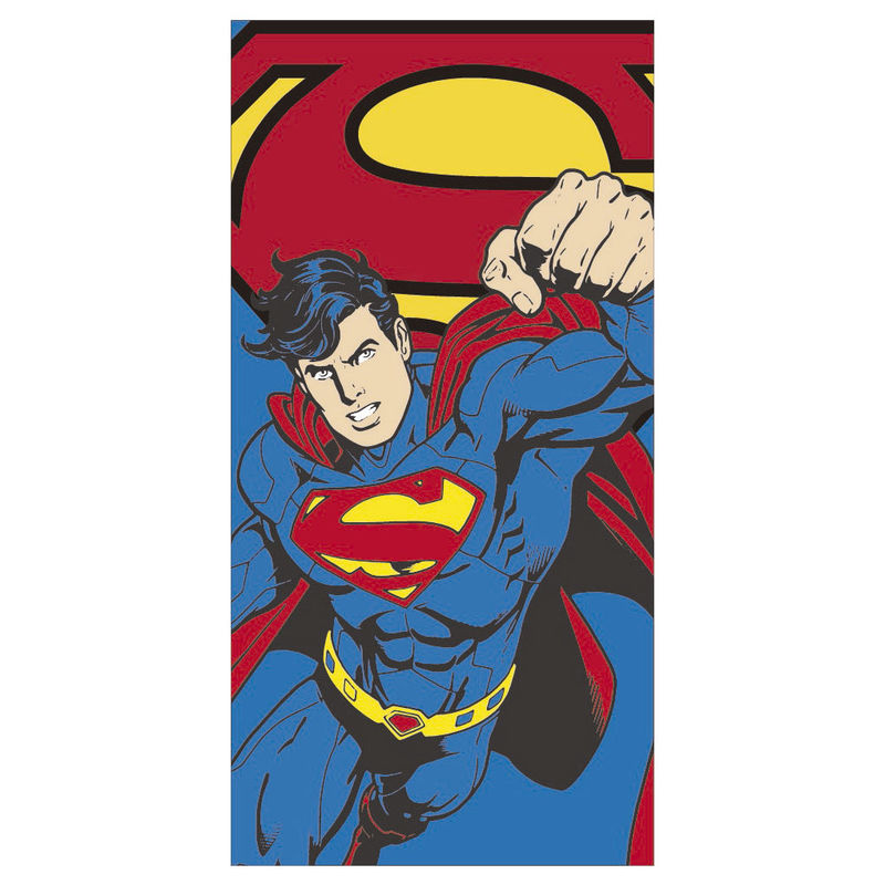 DC Comics Superman microfiber beach towel