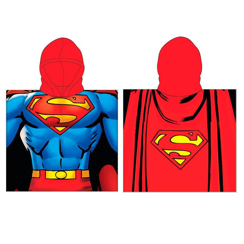 DC Comics Superman poncho towel