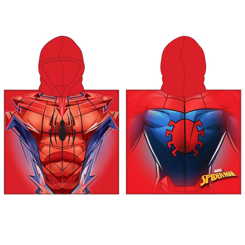 Marvel Spiderman poncho towel