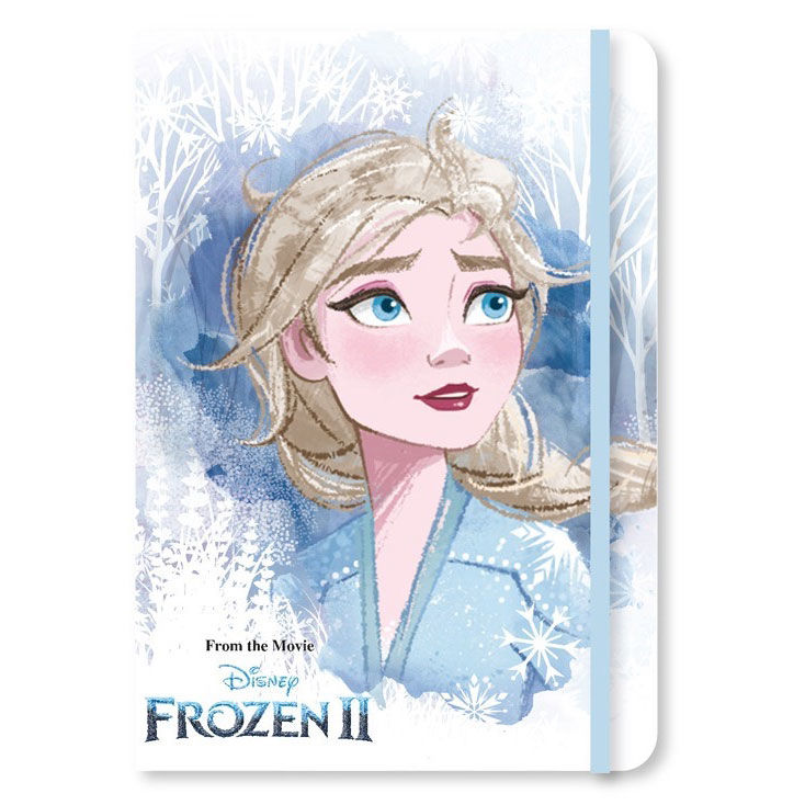 Disney Frozen 2 glitter notebook