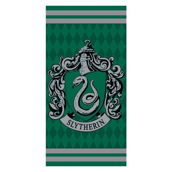 Harry Potter Slytherin cotton beach towel