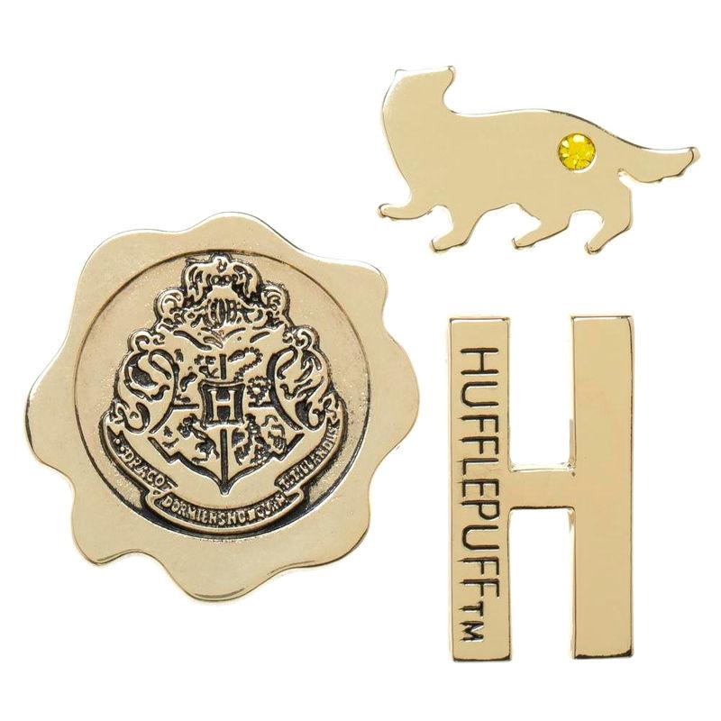 Harry Potter Hufflepuff pack 3 pin