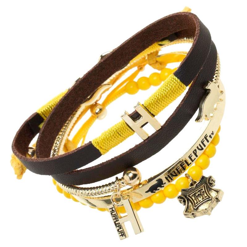 Harry Potter Hufflepuff bracelets set