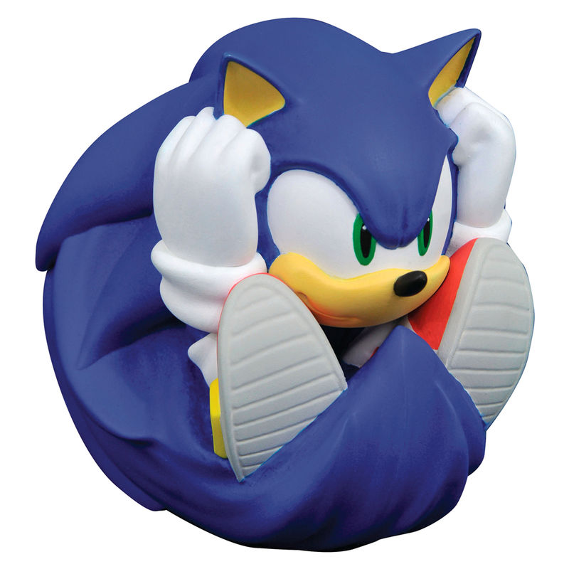 Sonic The Hedgehog Piggy Bank Bust Familand