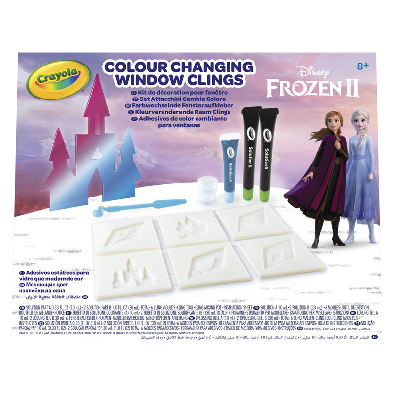 Disney Frozen 2 Colour Changing Window Clings