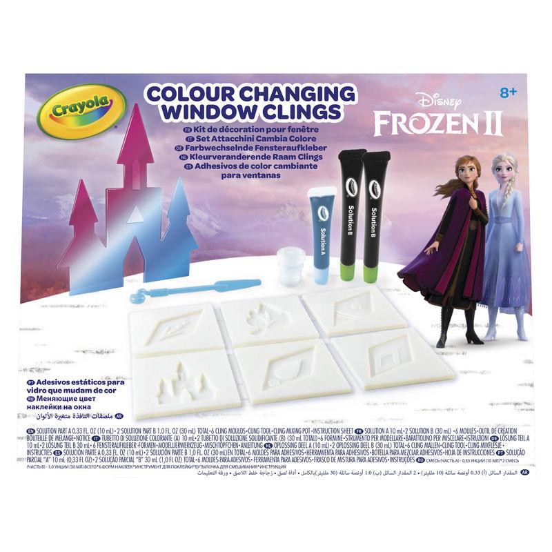 Disney Frozen 2 Colour Changing Window Clings