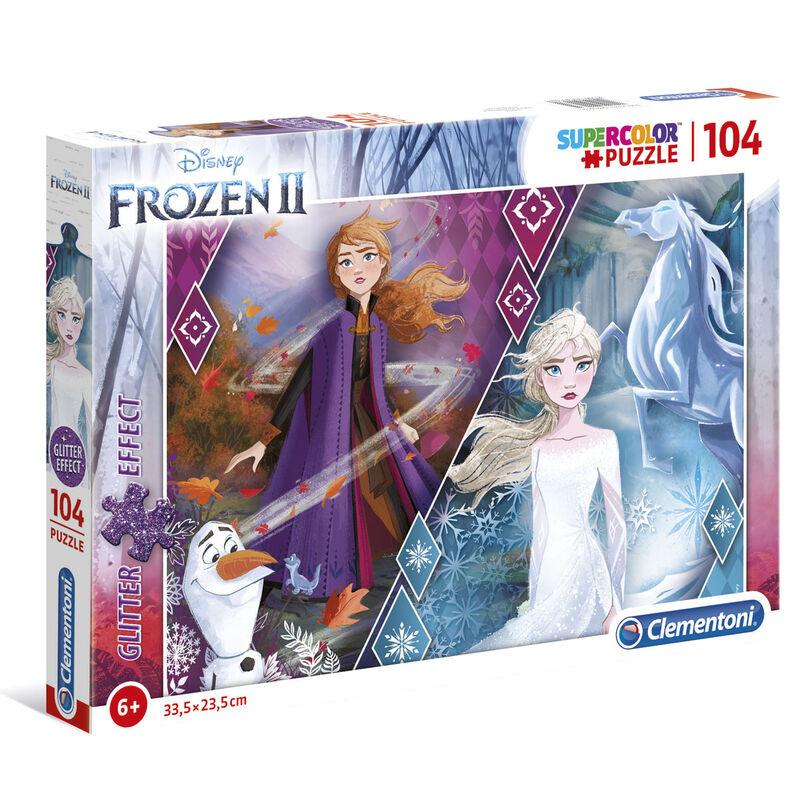 Disney Frozen 2 Glitter Effect puzzle 104pcs