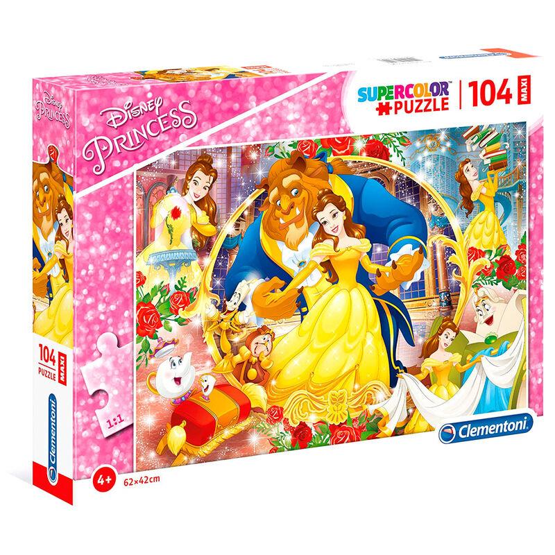 Disney Beauty and the Beast Maxi puzzle 104pcs