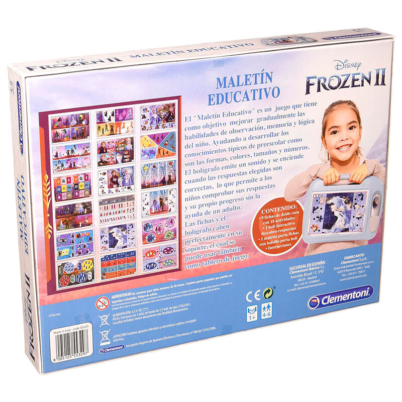 Disney Frozen 2 Educational briefcase