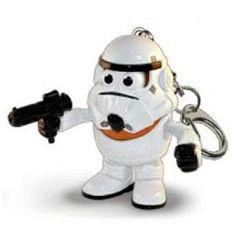 Stormtrooper Star Wars Mr. Potato Head keyring