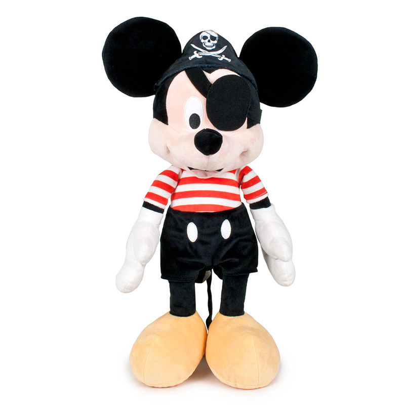 Disney Mickey pirate soft plush toy 49cm